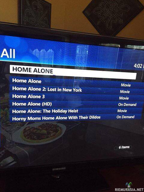 Äidit yksin kotona porno