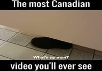 Kanadalaiset yleisessä vessassa