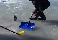 Curlingia jäällä