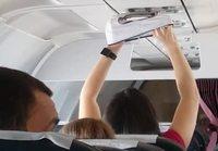 Pyykin kuivausta lentokoneessa
