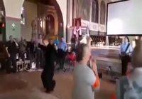 Kova meininki kirkossa
