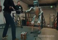 Robottia kiusataan