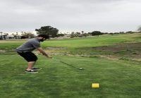 Golfradfalla mokaillaan