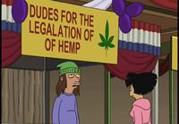 Dudes for the legalation of of hemp