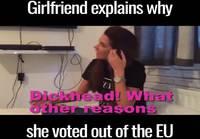 Brexit ja syy miksi äänestää ulos