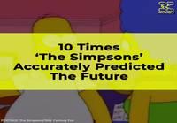 Simpsonien toteutuneet ennustukset