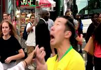 Neymar Jr public prank