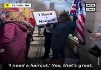 Mielenosoitus coronarajoituksia vastaan, USA:ssa tietenkin