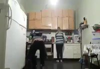 Jalkapalloa keittiössä
