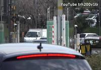 Japanin pääministeri liikenteessä