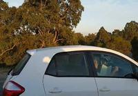 Lukuhetki autossa