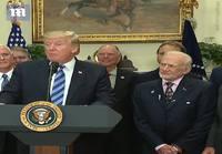 Buzz Aldrin ja Trumpin puhe