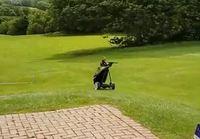 Golfbagi oli nähnyt tarpeeksi