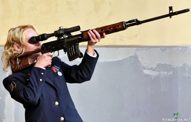 Tarkka Ampuja Koulutus