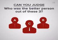 Can you Judge people?