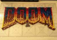 Original DOOM logo
