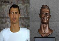 Jos Ronaldo näyttäisi oikeasti samalta kuin hänestä tehty näköispatsas