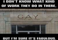 Gay office building