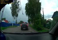 Risteysonnettomuus Venäjällä