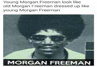 Nuori Morgan Freeman