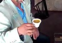 Kahvitauon röökitemppu